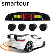 Smartour Viecar 4 Sensori Buzzer 22 millimetri Kit Sensore di Parcheggio Reverse Backup Radar Alert Audio Indicatore Sonda Sistema di 12 V