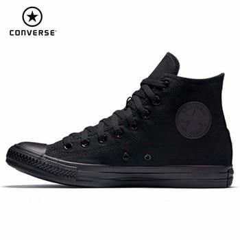 70a4b99a Обувь для скейтбординга для мужчин и женщин; Новинка; высокие черные  классические кроссовки; повседневная обувь; #1Z588