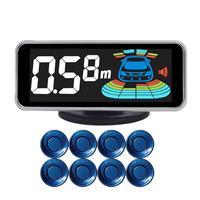 Sensor de estacionamento Sensores 8 QXNY Automóvel Carro Invertendo Radar de Estacionamento Assistência de Estacionamento Detector De Radar de Estacionamento Reverso Do Carro