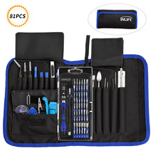 81PCS/set Workpro Hand Tool Set With 54 Specialty Bits Multi