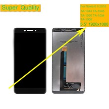 10Pcs Original For Nokia 6 II 2018 LCD DIsplay Touch Screen Digitizer Assembly 6.1 TA-1043 TA-1045 1050 1054