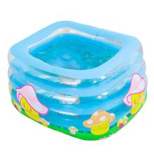 цена на IndInflatable Baby Swimming Pool Portable Outdoor Children Heat Preservation Bathtub Bathtub Kids Pool Baby Swimming Pool