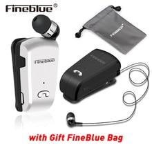 Original Fineblue L18 Mini Wireless Headset mit tragbare Tasche anzug Sport Fahrer business Bluetooth In Ohr Kopfhörer mit Mic
