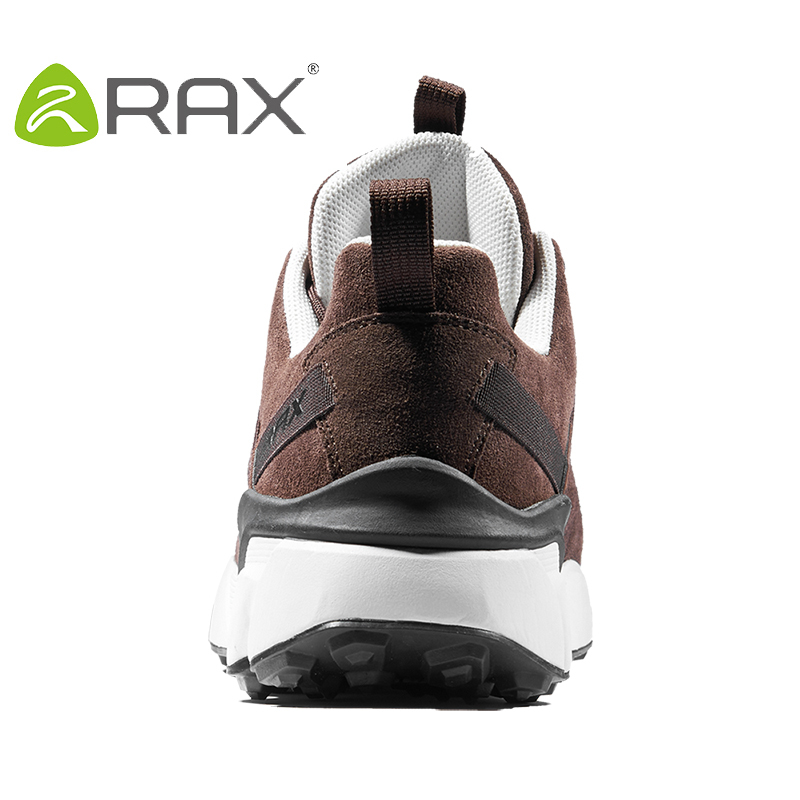 RAX 2017 New Men's Suede Leather Waterproof Cushioning Hiking Shoes Breathable Outdoor Trekking Backpacking Travel Shoes For Men 5