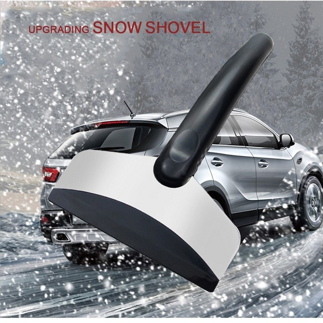 Loss Promotion Ice Scraper Car Window Cleaning Snowplow Tool Windshield Winter Snow Removal Ice Shovel