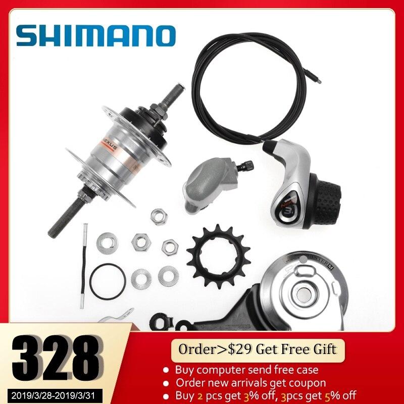 SHIMANO Nexus Internally Geared Hub Inter-7 7-Speed Revo Shifter Roller Brake