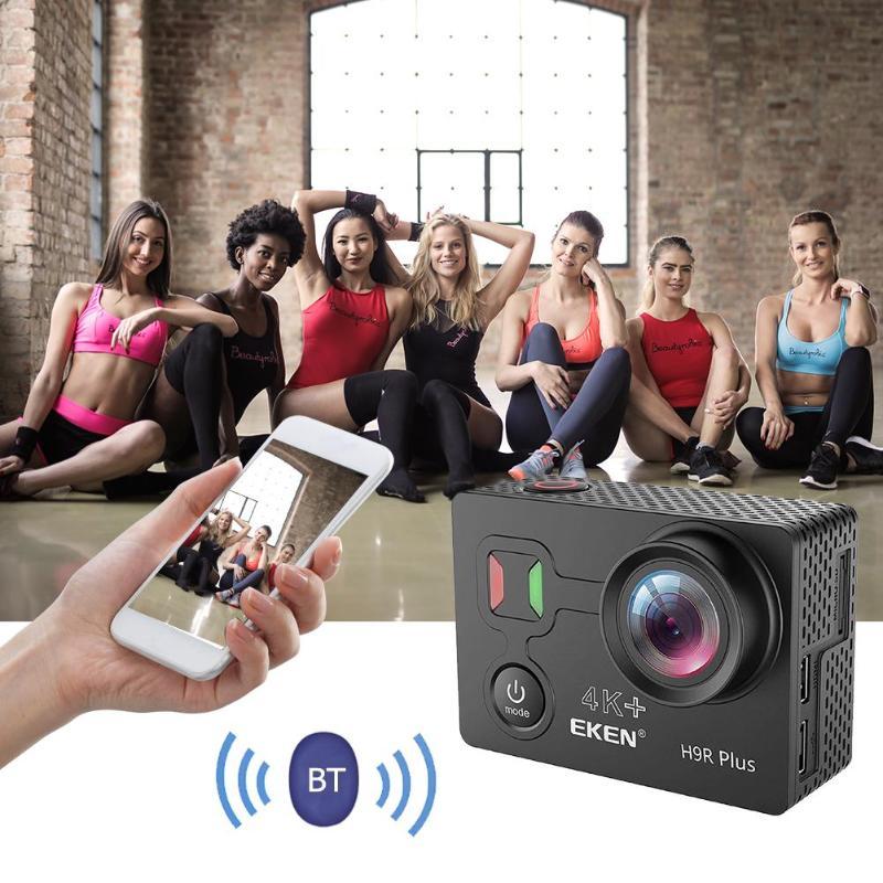 EKEN H9R Plus Action Caméra 4 K Ultra HD 30FPS WiFi 2.0 pouces 14MP Ambarella A12 Puce 30 m Sous-Marine étanche Cam Sport Caméra