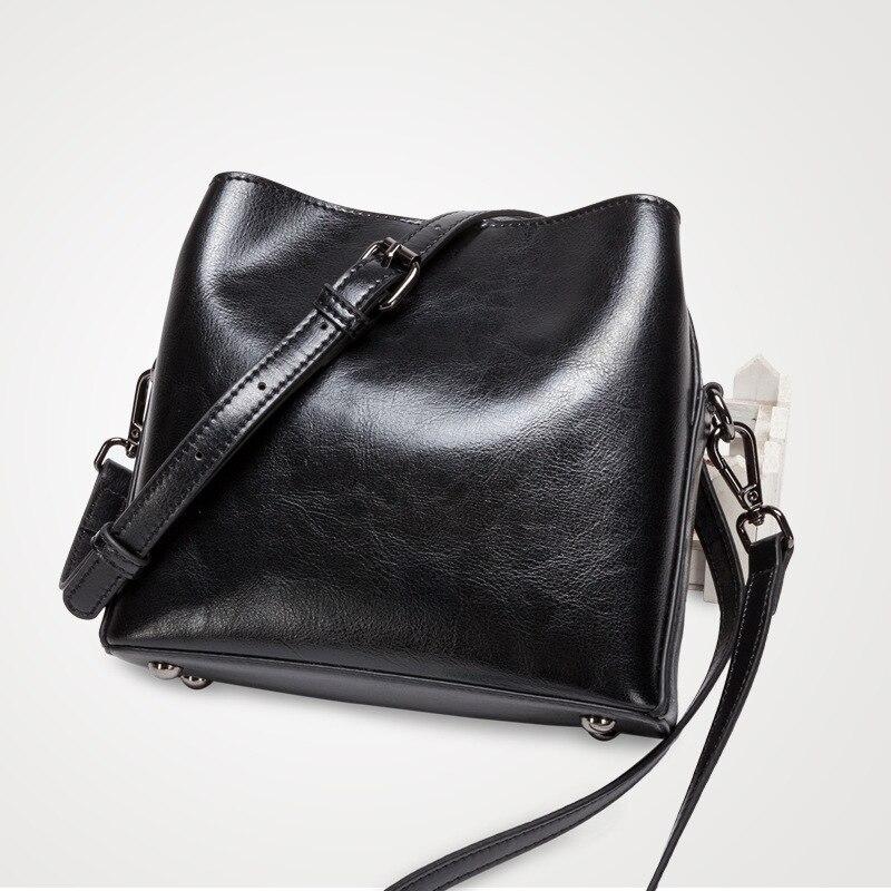 Retro Koe Split Lederen Kleine Tas Vrouw Vierkante Flap Messenger Bag Zip Crossbody Mode Tas Bucklet Riem Handtas Dames - 6