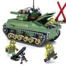 437 pcs série Militar SWAT Exército DOS EUA M4 tanque do exército soldado Ação Figuras Blocos de Construção de Brinquedos para As Crianças presentes de Natal