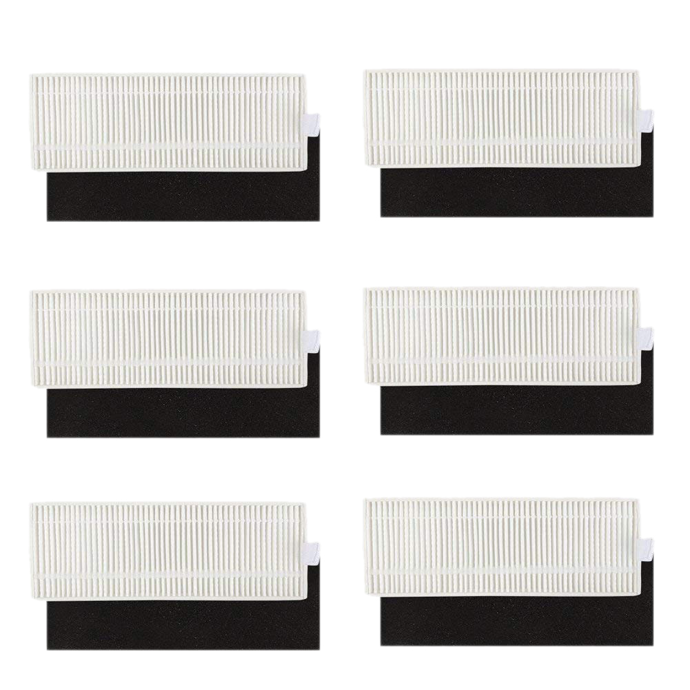 Filter Replacement Parts for Eufy 11+ 11 Plus Robovac Vacuum Cleaner Accessories (Pack of 12)Filter Replacement Parts for Eufy 11+ 11 Plus Robovac Vacuum Cleaner Accessories (Pack of 12)