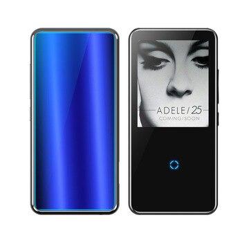 Reproductor de música de MP3 con Bluetooth de alta fidelidad y pantalla HD reproductor de vídeo portátil delgado con altavoz incorporado Radio FM APE FLAC
