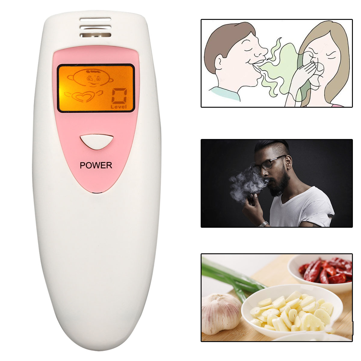 Portable Bad Breathe Smell Checker Halitosis Detection Tool Anti Oral Odour Test Hygiene Condition Tester Successful Dating KitPortable Bad Breathe Smell Checker Halitosis Detection Tool Anti Oral Odour Test Hygiene Condition Tester Successful Dating Kit