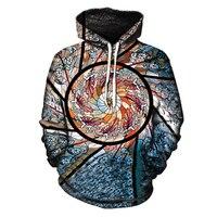 3d print fashion harajuku funny Hoodie Festival Clothing Stained Glass Art Sublimation Print Trippy Unisex Hoodies Sweatshirt