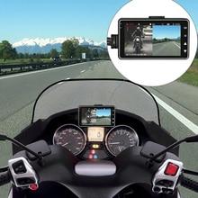 DL18 Moto Macchina Fotografica DVR Motore Dash Cam Con Speciale Dual-track Anteriore Posteriore Registratore Moto Elettronica 120 Gradi
