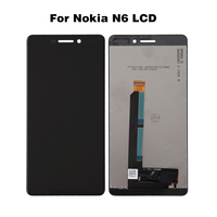 For Nokia Lumia 6 LCD Display for Nokia 6 N6 Touch Screen Digitizer Assembly N6 Replacement Screen