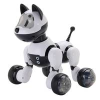 Intelligent Dance Robot Dog Electronic Pet Toys With Music Light Voice Control Free Mode Sing Smart Dog Robot For Kids Gift Toys
