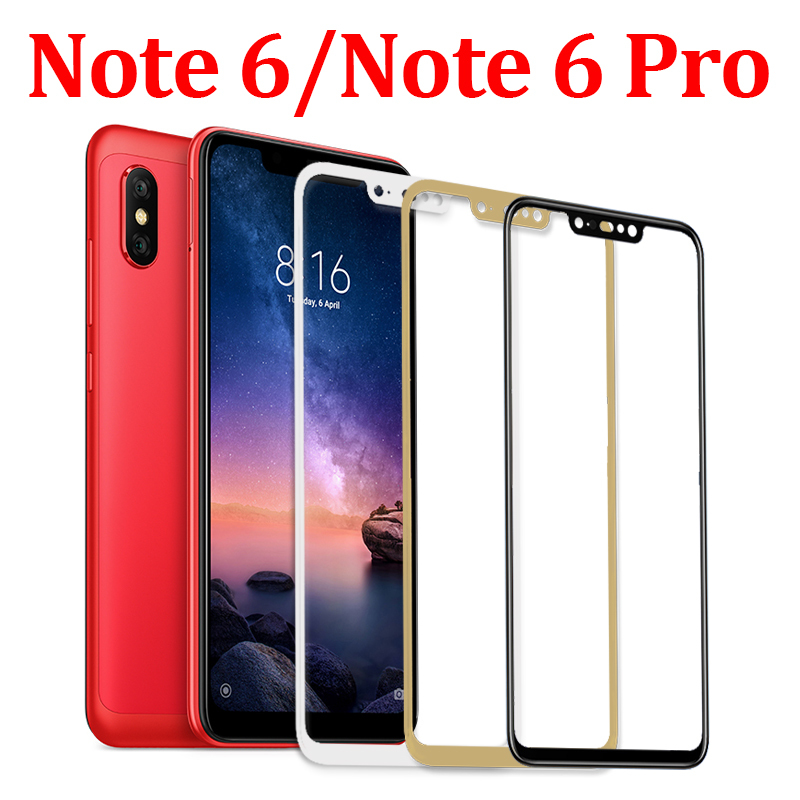 9H Full For Xiaomi A2 A1 LITE MI 9 Redmi Note 5 6 7 Pro Protective Glass redmi 5 plus 6 6A Screen Protector Tempered Glass Film in Phone Screen Protectors from Cellphones Telecommunications