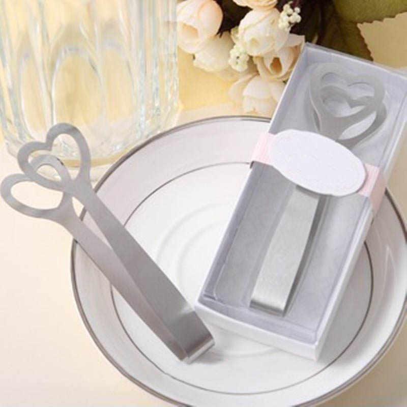 1 шт. зажимы для сахарного кубика сувенир для свадебной вечеринки любовь в форме сердца столовая посуда все для праздника щипцы для сахара из нержавеющей стали