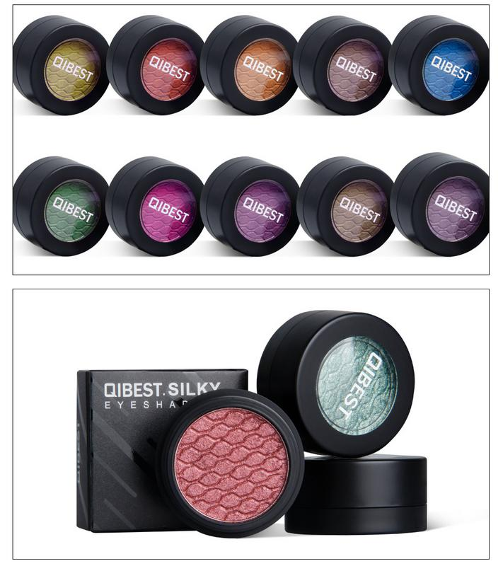 QIBEST 24 Colors Eye Shadow Cream Mashed Potato Texture Solid Color Potato Eye Shadow Cream