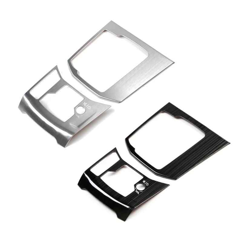 Image 3 - Для Mazda CX 5 CX 5 2017 2018 нержавеющая сталь переключения передач автомобиля электронный ручной тормоз панель Крышка только LHD-in Лепнина для интерьера from Автомобили и мотоциклы