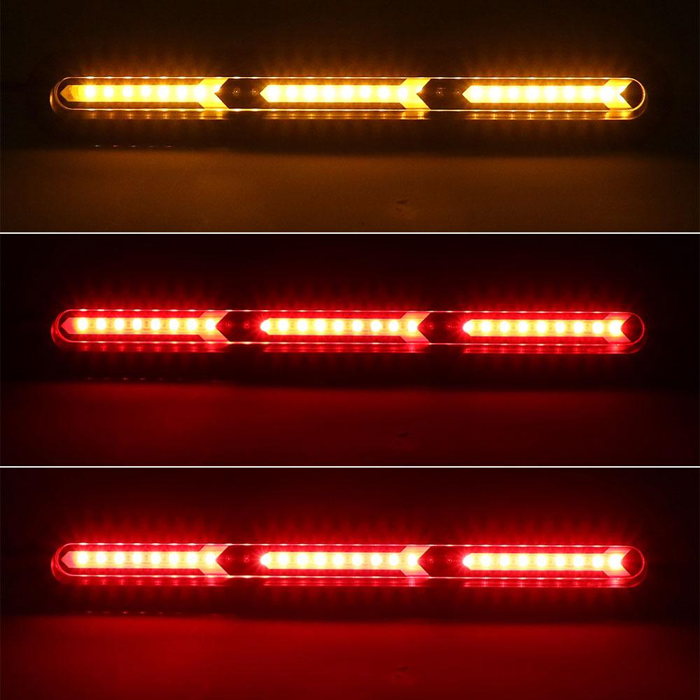 2 шт. автомобильный сигнал поворота автомобильный световой сигнал прочные автомобильные задние тормозные огни лобовое стекло предупреждающие огни красный свет универсальный