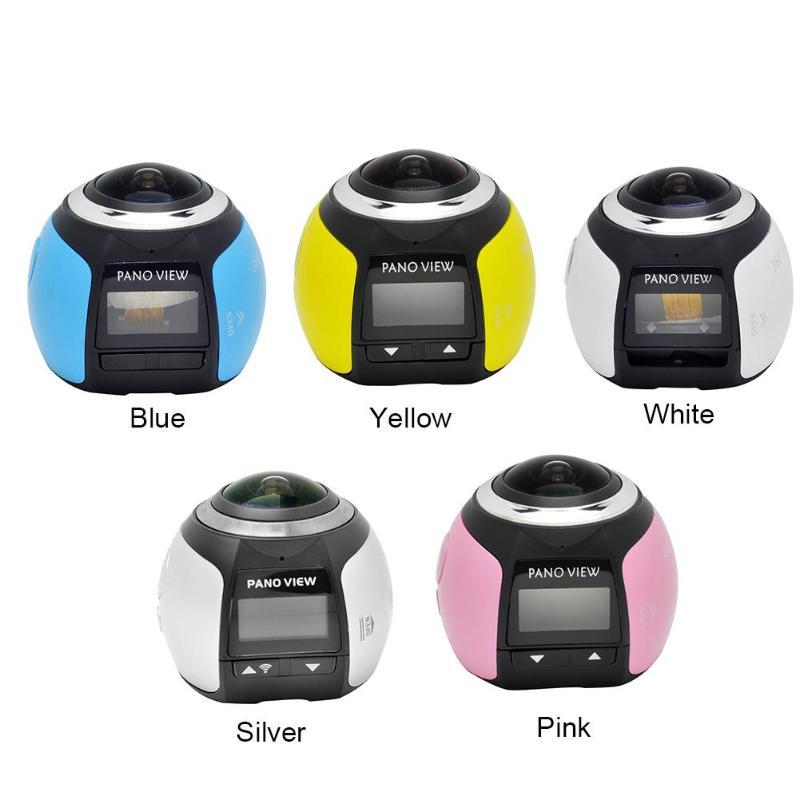 Camara 360 Degrees Panoramic Lens VODOOL V1 4K Sport Camera HD 0 96 inch WiFi Photo