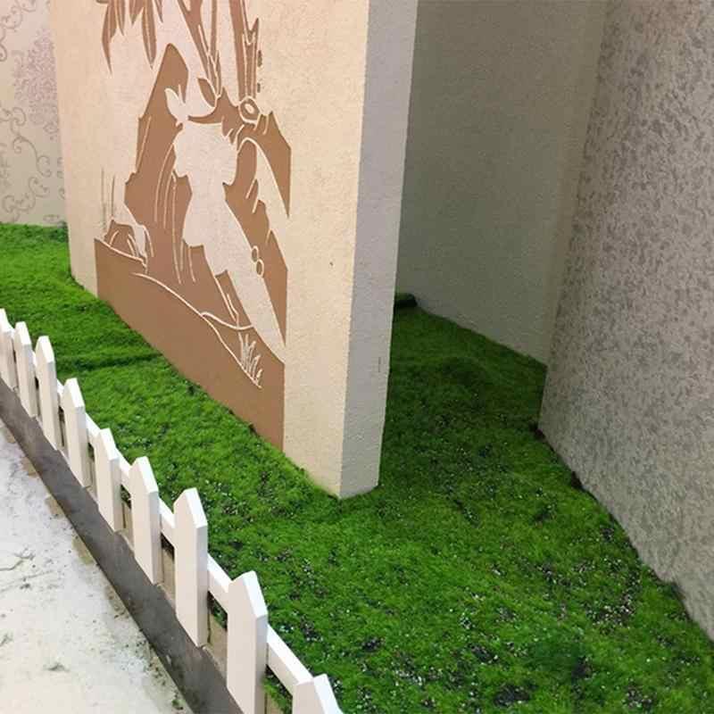 1 м x 1 м Рождественский Пасхальный соломенный коврик зеленый искусственный газон ковер поддельный дерн домашний сад мох домашний пол DIY свадебное украшение трава