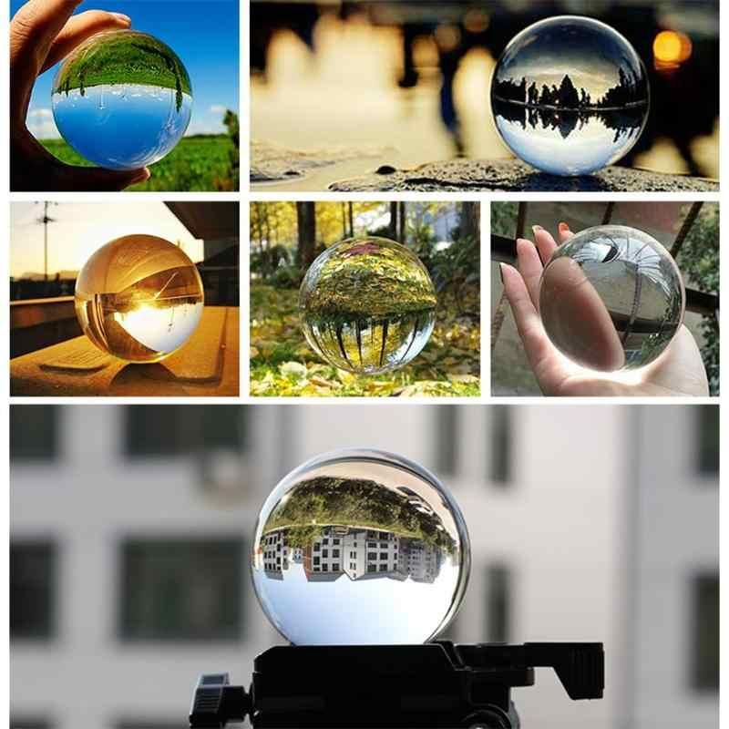 מלאכותי גביש כדור זכוכית כדור כדור קישוט קישוטי מתנה ריפוי בסגנון הסיני פנג שואי קישוט כדור מתנת יופי