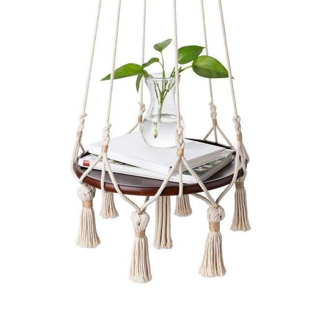 Hanging Shelf Macrame Plant Hanger