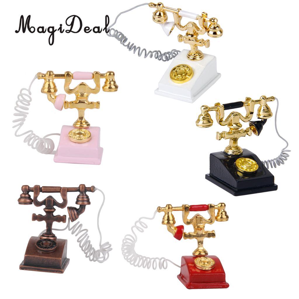 Puppenstuben & -häuser MagiDeal 3 Tier Pink Rack & Dessert für 25cm Mellchan Baby Dolls House Kits