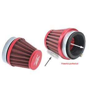 Image 4 - Alconstar 35 38 42 45 50 55 58mm Motorcycle Carburetor Air Filter Intake Pipe Mushroom Head For KOSO MIKUNI OKO KEIHI Carburetor