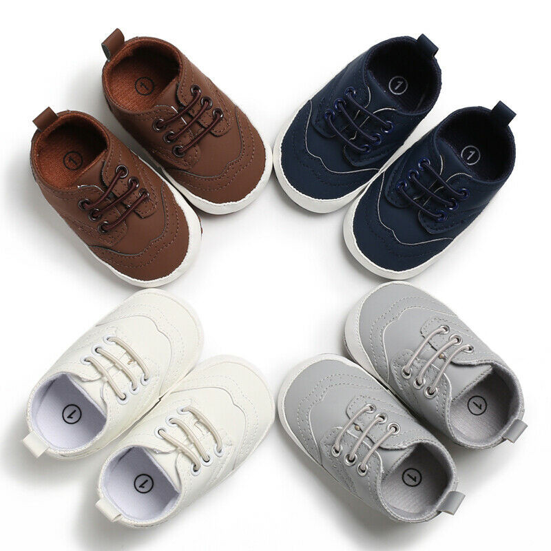 Baby Shoes Girls Newborn Soft Solid Fashion Boy Sole Shoes First Walkers 2019 Fashion Spring Prewalker Newborn Baby Active Shoes