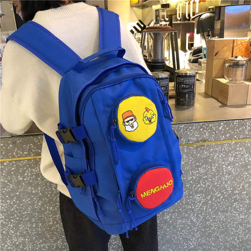 Women Oxford Backpack Bag Woman Campus Students Bag Ladies Designers Schoolbag Lovely Backpack Bags Both Shoulders Bags in Backpacks from Luggage Bags