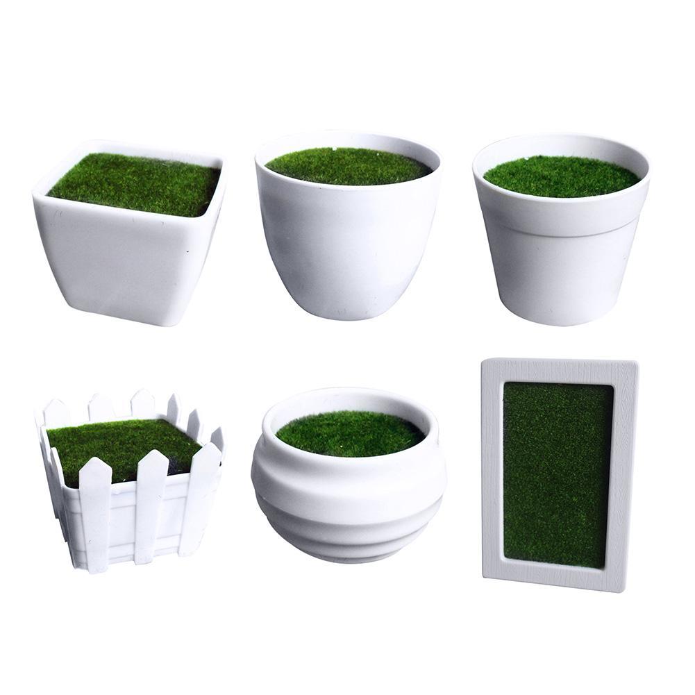 Succulent Plant Fleshy Flower Container Plastic Plant Pot Interior Decoration For Desktop Balcony Living Room