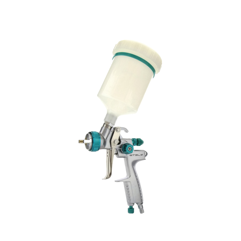 Spray Gun STELS AG 901 LVMP 57365professional gravity type 1.3 and 1.1 mm nozzles цены