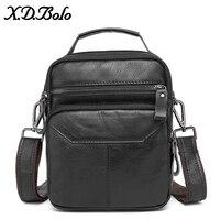 X.D.BOLO Men Tote Bags Famous Brand New Fashion Man Leather Messenger Bag Male Cross Body Shoulder Business Bags for men