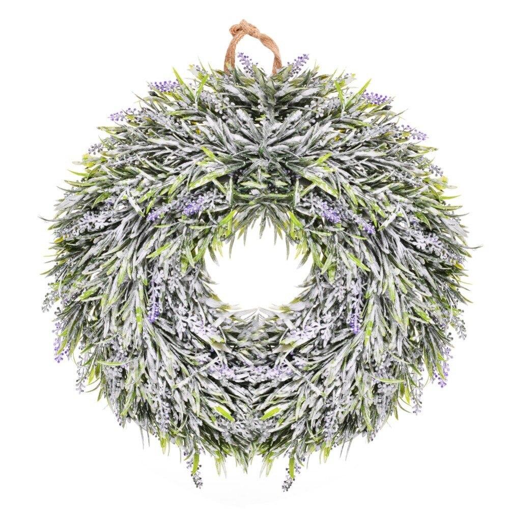 Adeeing artificielle lavande fleurs guirlande décorative artificielle fleur guirlande lierre vigne suspension guirlande