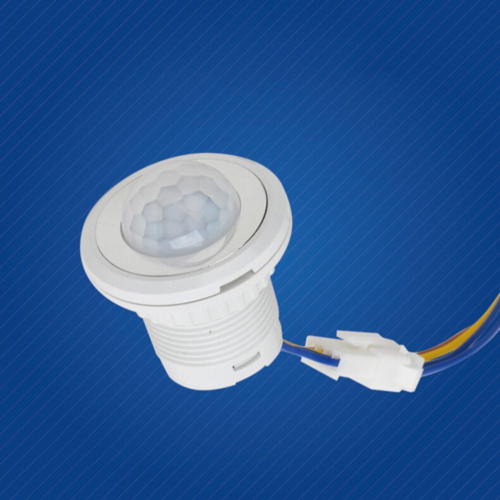 85-265V Home Indoor Outdoor Infrared Light Motion Sensor Time Delay Home Lighting PIR Switch Led Sensitive Night Lamp