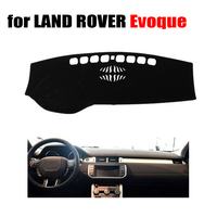 Car dashboard covers mat for LAND ROVER Evoque all the years Left hand drive dashmat pad dash cover auto dashboard accessories