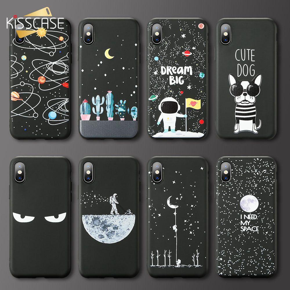 KISSCASE Stars Space <font><b>Case</b></font> For <font><b>Samsung</b></font> <font><b>Galaxy</b></font> S8 S9 PLUS J5 2017 Dog <font><b>Cat</b></font> Soft TPU Phone <font><b>Case</b></font> for <font><b>Samsung</b></font> <font><b>Galaxy</b></font> <font><b>A8</b></font> A7 A6 A9 <font><b>2018</b></font> image