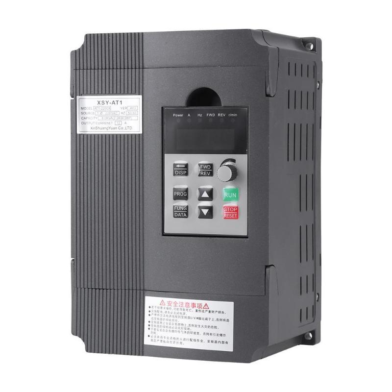 2.2kW 220V Variable Frequency Drive Speed Controller for Single Phase Motor  220V High Quality Speed Controller2.2kW 220V Variable Frequency Drive Speed Controller for Single Phase Motor  220V High Quality Speed Controller