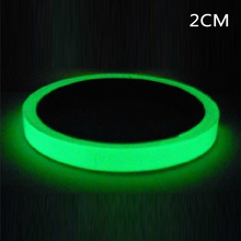 PVC Glow In The Dark Sticky Tape Self Adhesive Luminous Safety Film Fluorescent Night Self-adhesive Sticker  Warning