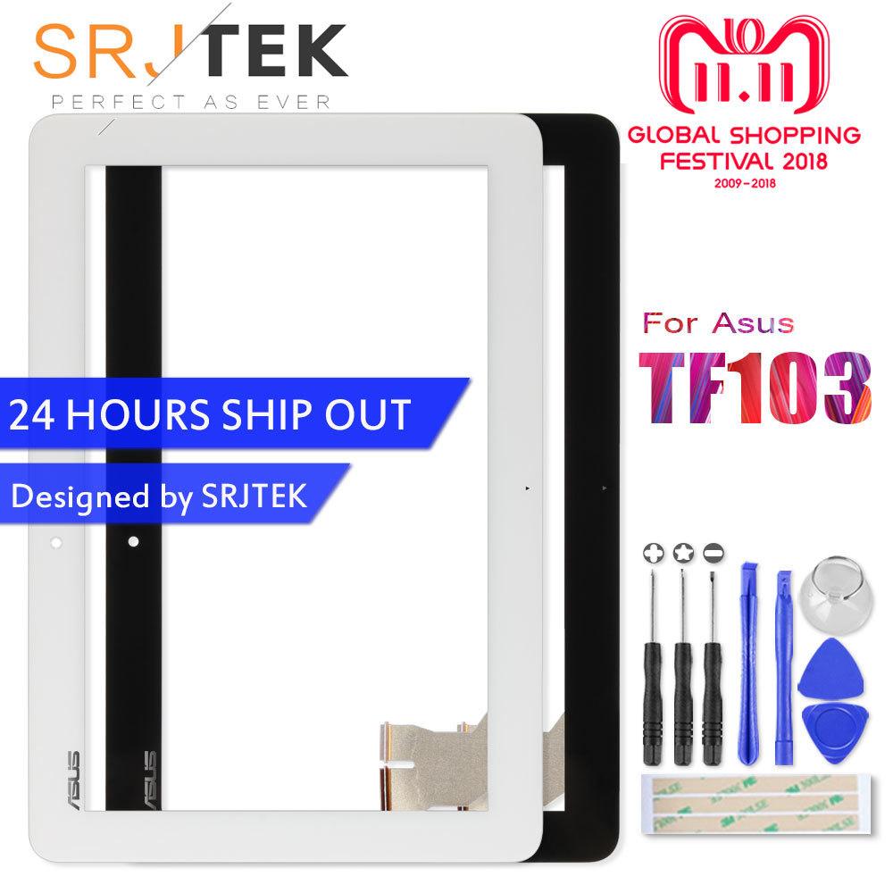 Touch Screen For Asus TF103CG Transformer Pad TF103 TF103C Touchscreen K018 Digitizer Glass Sensor Tablet Replacement Part 7 локхарт э виновата ложь роман