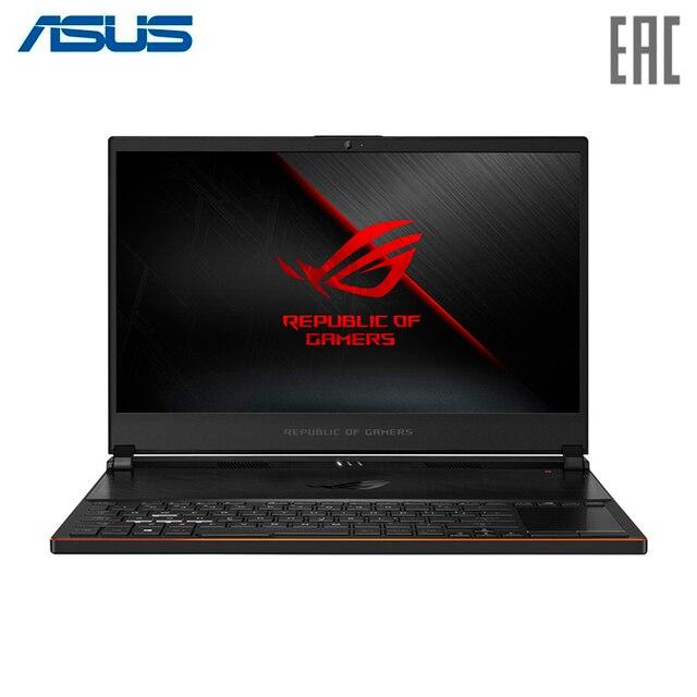 "Ноутбук ASUS ROG GX531GM Intel i7 8750H/16Gb/1Tb SSD/NO ODD/15.6"" FHD IPS Anti glare/NVIDIA GeForce GTX1060 6Gb GDDR5/Camera/Wi-Fi/Windows 10/Black Metal (90NR0101-M00380)"
