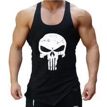 ZACOO Men Fashion Printing Muscle Bodybuilding Sleeveless Shirt Tank Top