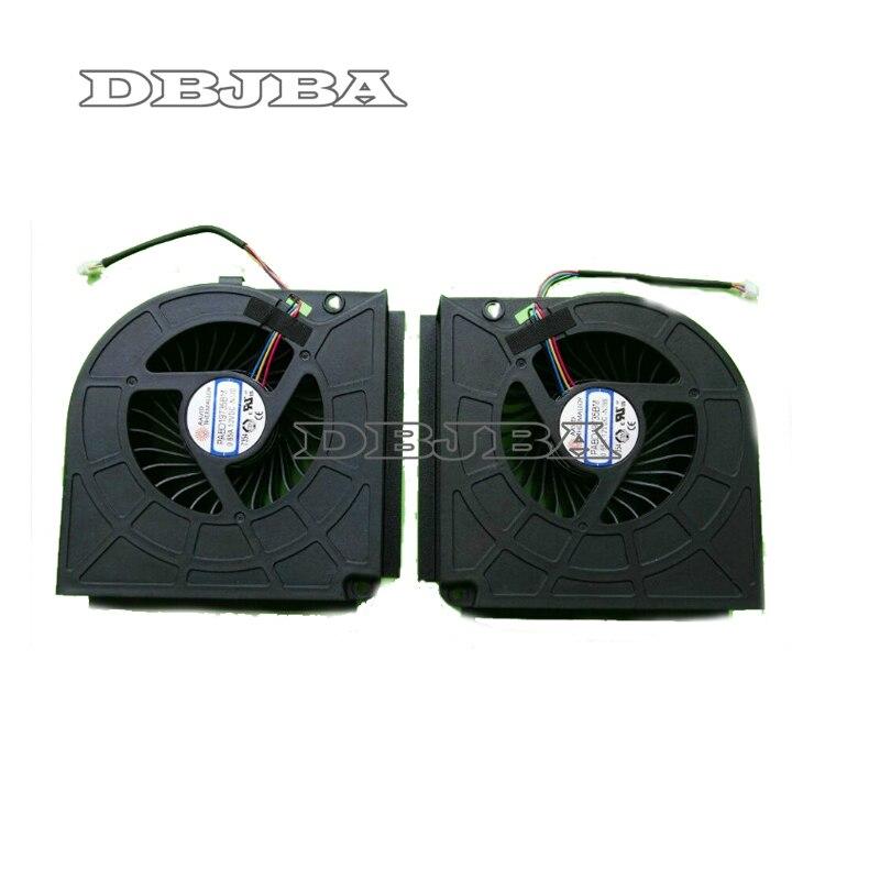 Nouveau ventilateur de refroidissement pour MSI GT73 17AX GT75VR GT73VR GT73EVR FANPABD19735BM CPU + GPU ventilateur de refroidissement
