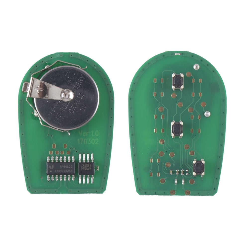 KEYYOU complet 3 boutons télécommande voiture porte-clés pour Toyota Tacoma HIGHLANDER SEQUOIA Sienna Tundra GQ43VT20T 315 Mhz