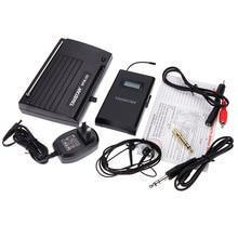 Takstar WPM-200 UHF Беспроводная аудио система приемник ЖК-дисплей 6 выбираемых каналов 50 м расстояние передачи с наушником