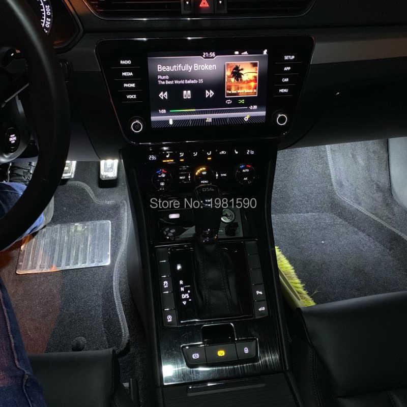 2 шт. водить автомобиль ног путь светильник для Audi A3 A4 A5 A6 Volkswagen Golf 4/5/6 Шкода Октавия фабия белого, синего, красного цветов