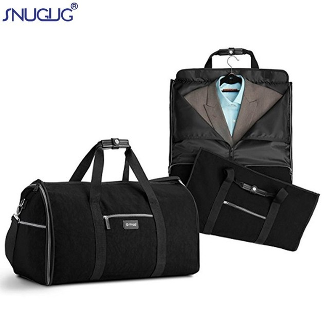2018 New 2 In 1 Durable Men Business Suit Duffle Bag Waterproof Travel Hand Luggage